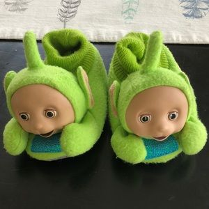 Other - Authentic VINTAGE Teletubbies Slippers (Dipsy)